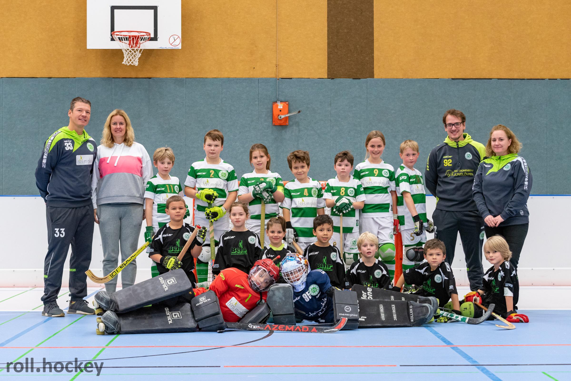 RSC Cronenberg Rollhockey Spieltag U11 10.11.2019
