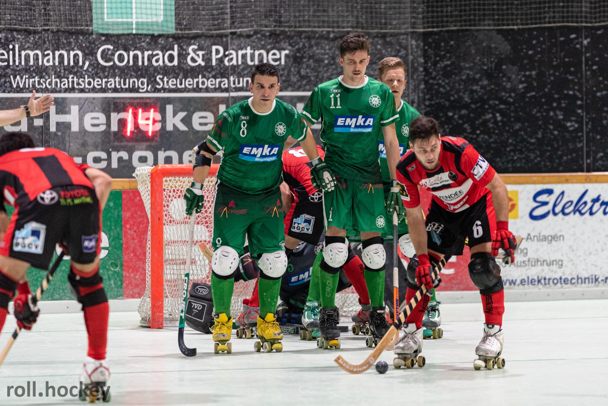 RSC Cronenberg Rollhockey Spieltag WS Europe Cup 16.11.2019