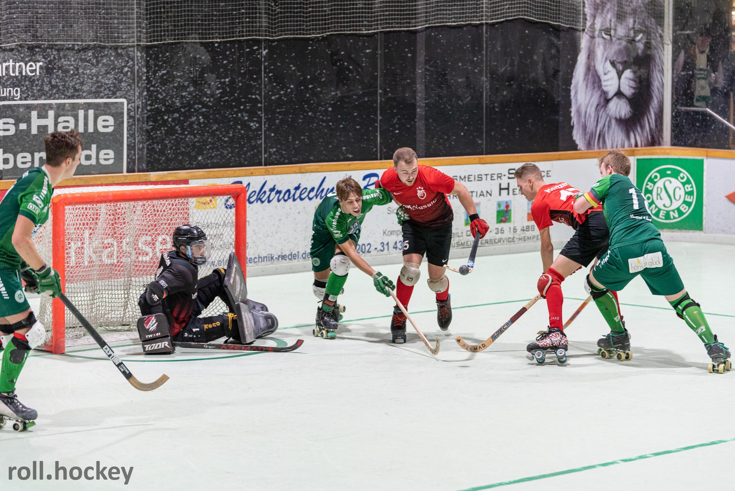 RSC Cronenberg Rollhockey Bundesliga Herren Spieltag 23.11.2019