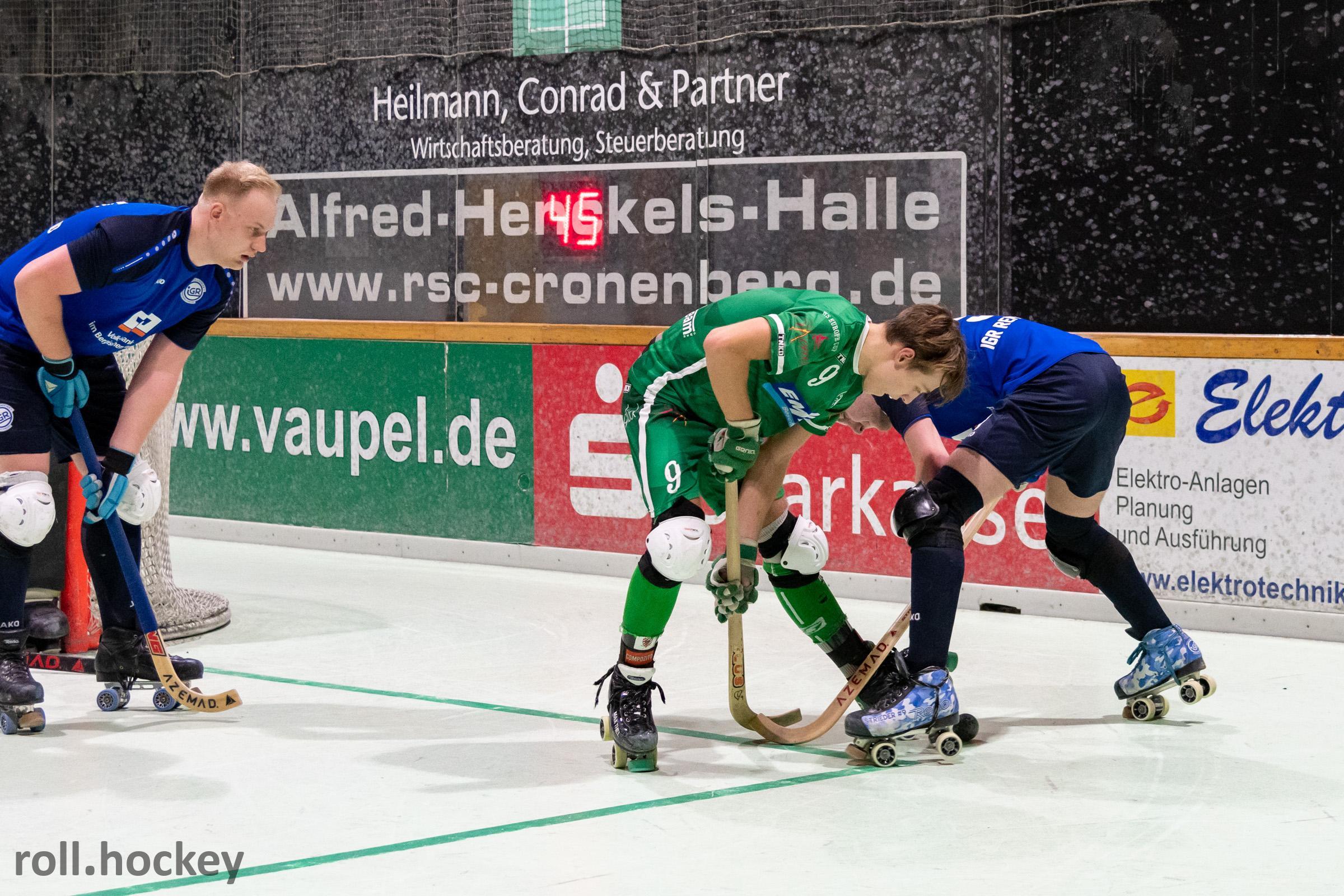 RSC Cronenberg DRIV-Pokal Achtelfinale Herren 30.11.2019