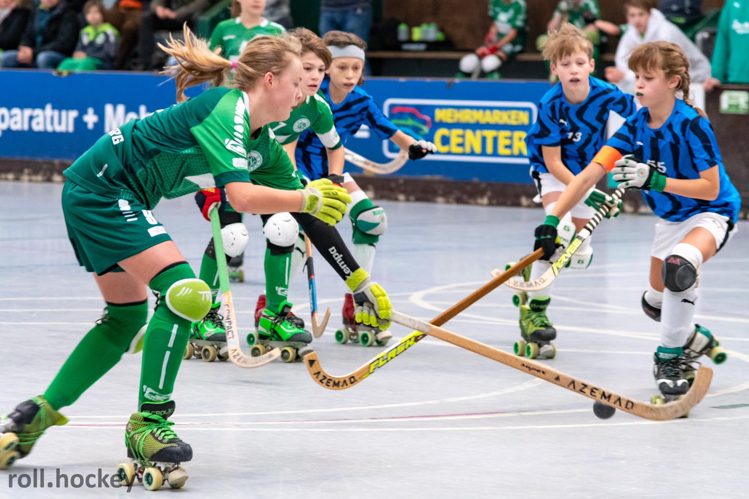 RSC Cronenberg Rollhockey Spieltag U13 01.12.2019