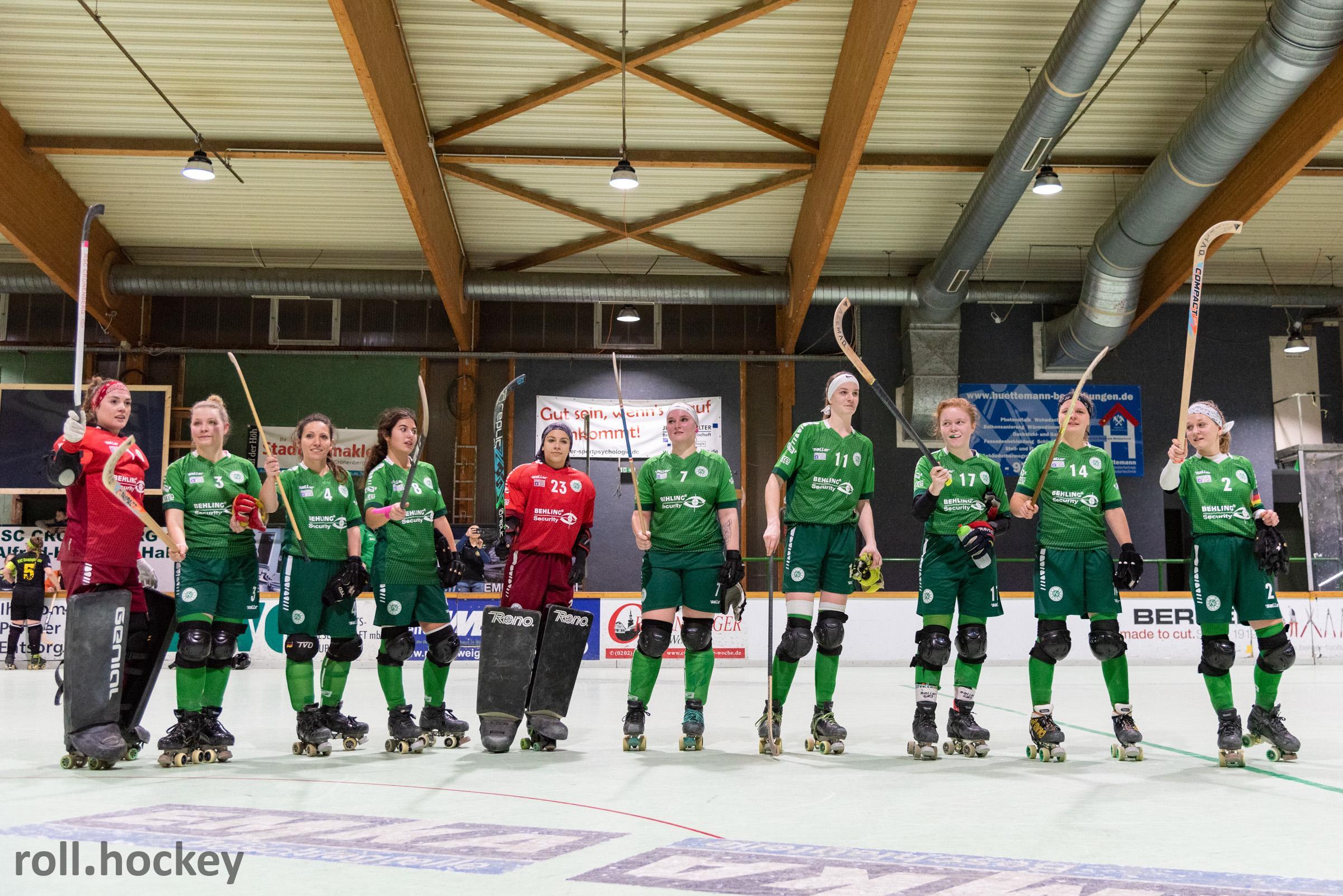 RSC Cronenberg Rollhockey Bundesliga Damen Spieltag 07.12.2019