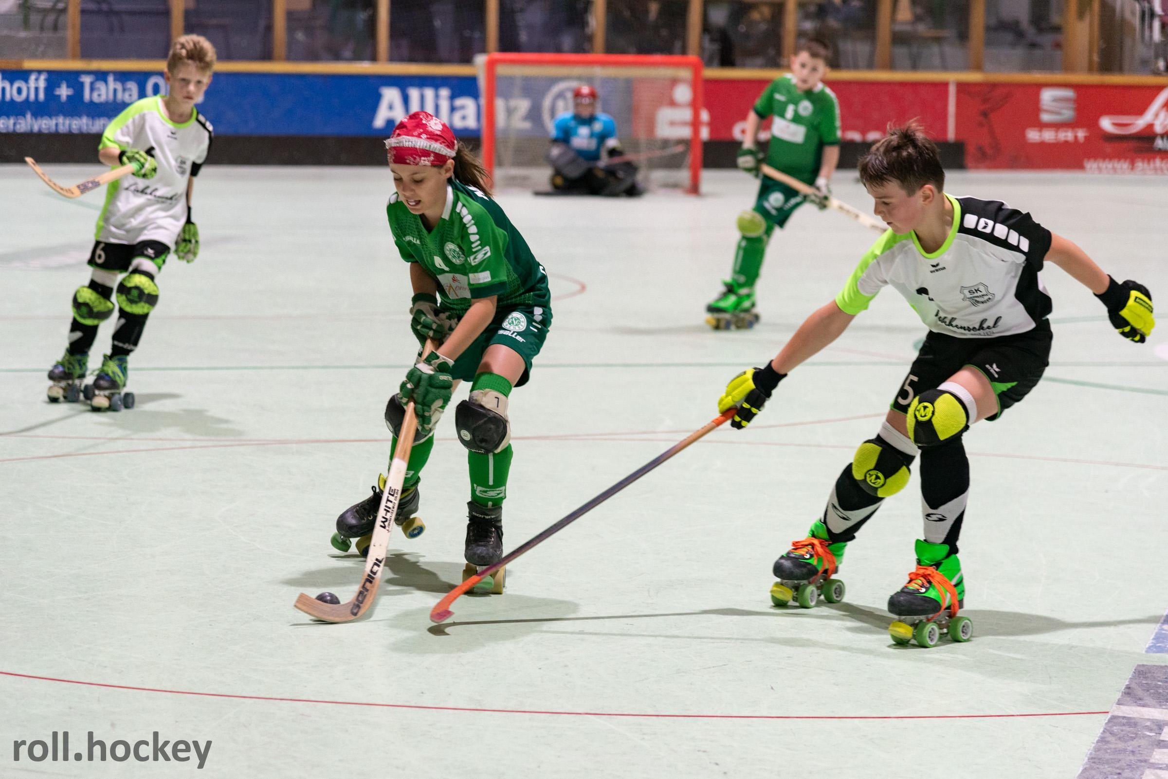 RSC Cronenberg Rollhockey Spieltag U13 08.12.2019
