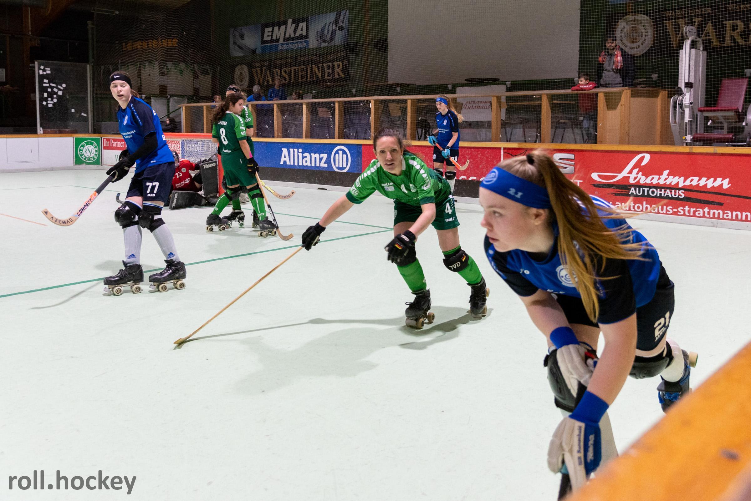RSC Cronenberg Rollhockey Bundesliga Damen Spieltag 14.12.2019