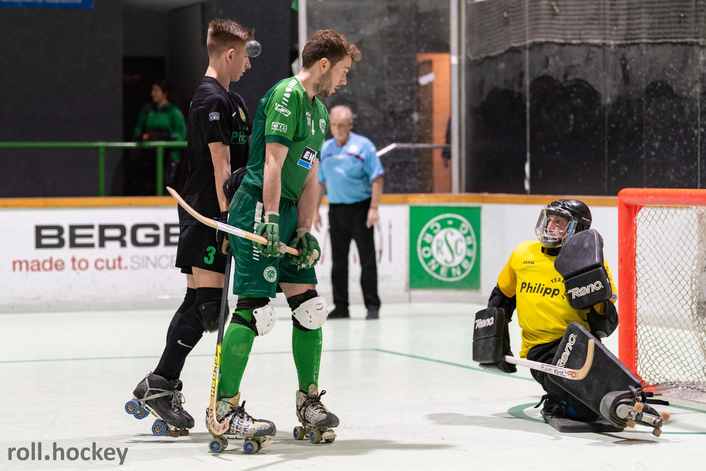 RSC Cronenberg Rollhockey Bundesliga Herren Spieltag 07.12.2019
