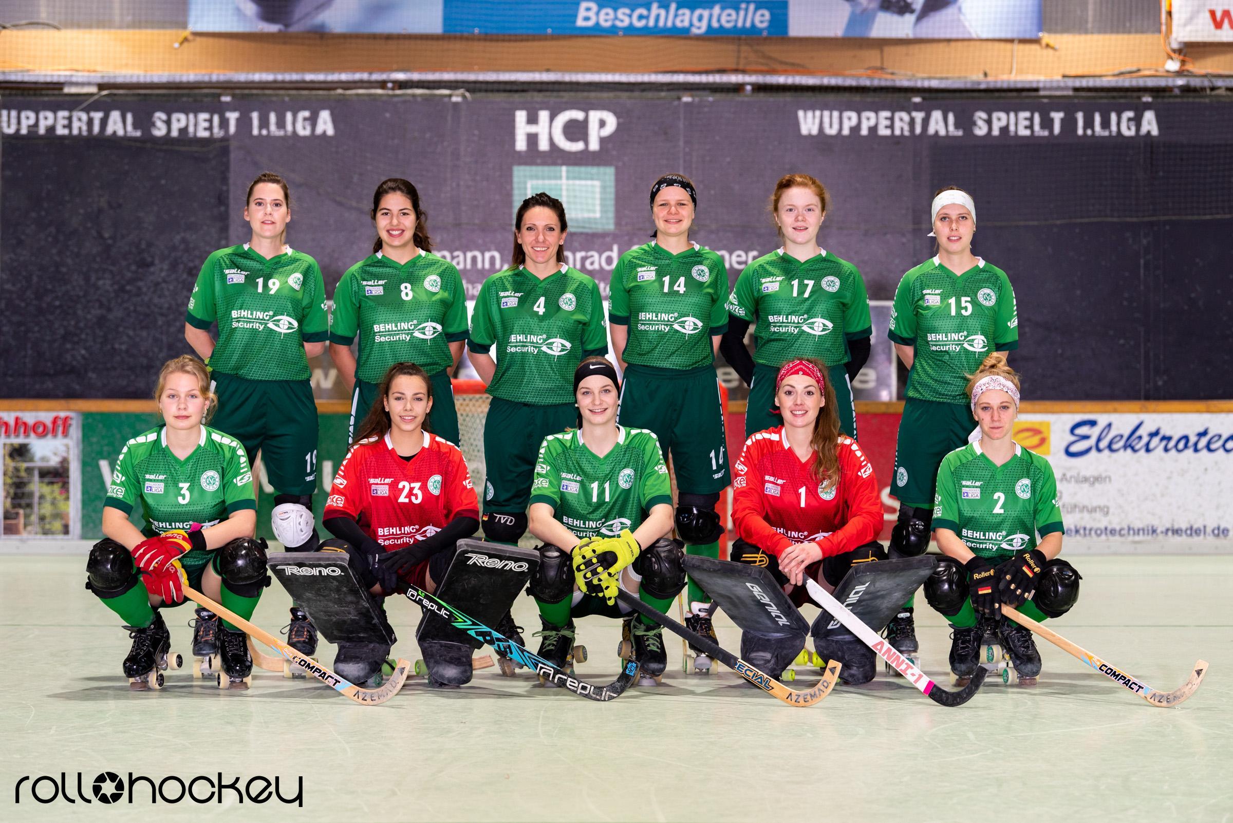 RSC Cronenberg 1. Damenmannschaft Saison 2019/2020