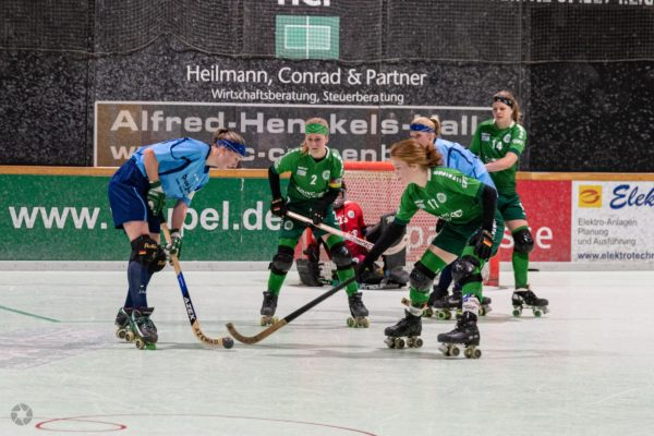 RSC Cronenberg Rollhockey Bundesliga Damen Spieltag 04.01.2020