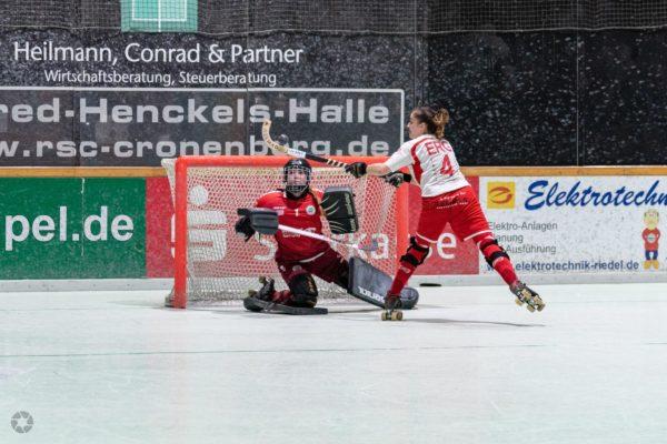 RSC Cronenberg Rollhockey Bundesliga Damen Spieltag 25.01.2020