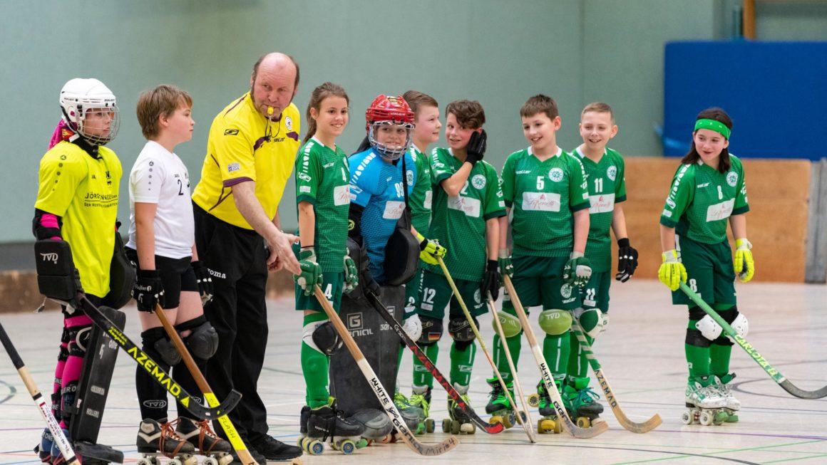 RSC Cronenberg Rollhockey Spieltag U13 12.01.2020