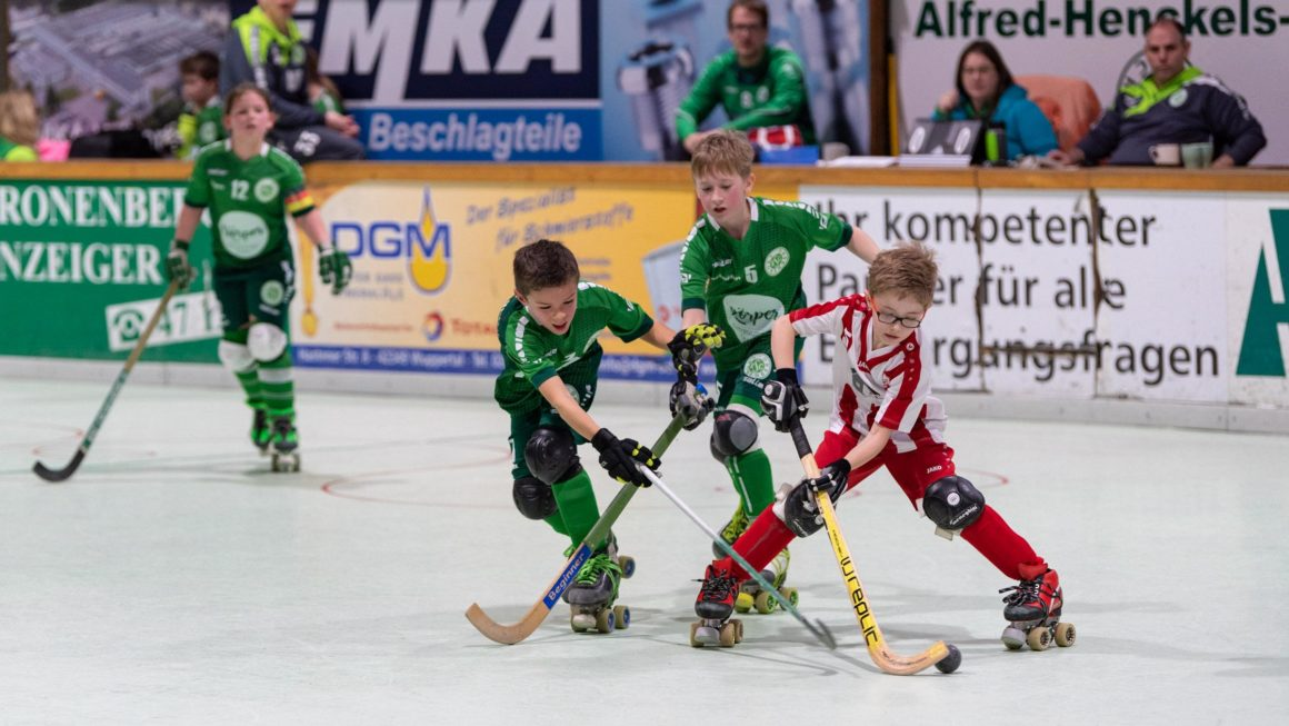 RSC Cronenberg Rollhockey Spieltag U11 02.02.2020