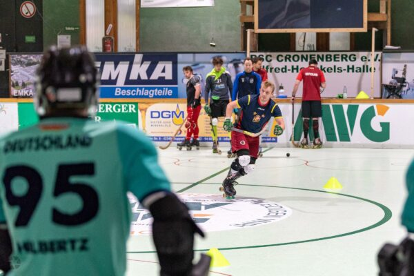 Deutsche Rollhockey Nationalmannschaft Herren: Erstes Training nach Corona-Lockdown
