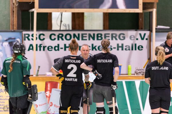 Kadertraining Deutsche Rollhockey Nationalmannschaft Damen 20.06.2021