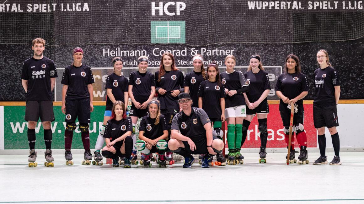 Kadertraining Deutsche Rollhockey Nationalmannschaft U15-Damen 27.06.2021